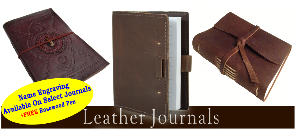 Leather Journals & Diaries