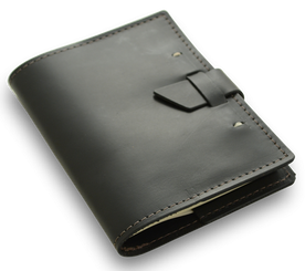 Rustico Wasatch refillable notebook - black