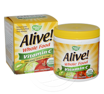 Vitamin C - Alive Whole Food 120g powder SORRY OUT OF STOCK