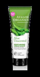 Avalon Organics Aloe Vera Shave Cream: 227g