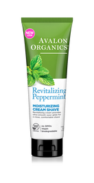 Avalon Organics Peppermint Shave Cream: 227g