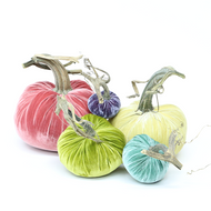 Velvet Pumpkin Large Set - Pastel