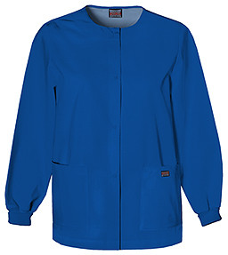 Cherokee Round Neck Snap Up Jacket