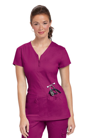 Koi Stretch Mackenzie Women's Solid Top (15 Color Options)