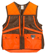 Brown and Orange Briarproof Game Vest by Dan's Hunting Gear | Circle G Hunting Store