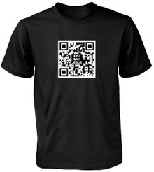 Just Say Jesus QR Code T-Shirt