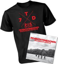#GODISONTHEMOVE CD & T-Shirt Bundle