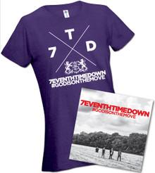 #GODISONTHEMOVE Autographed CD & Missy T-Shirt Bundle