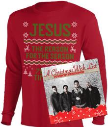 Christmas Sweater Long Sleeve T-Shirt & CD Combo