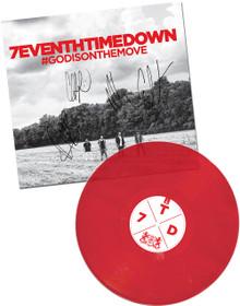 #GODISONTHEMOVE Autographed! Vinyl LP Record