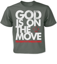 God Is On The Move Kid's Tee