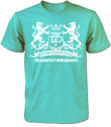 Live For God Or Die Trying T-Shirt - Mint -