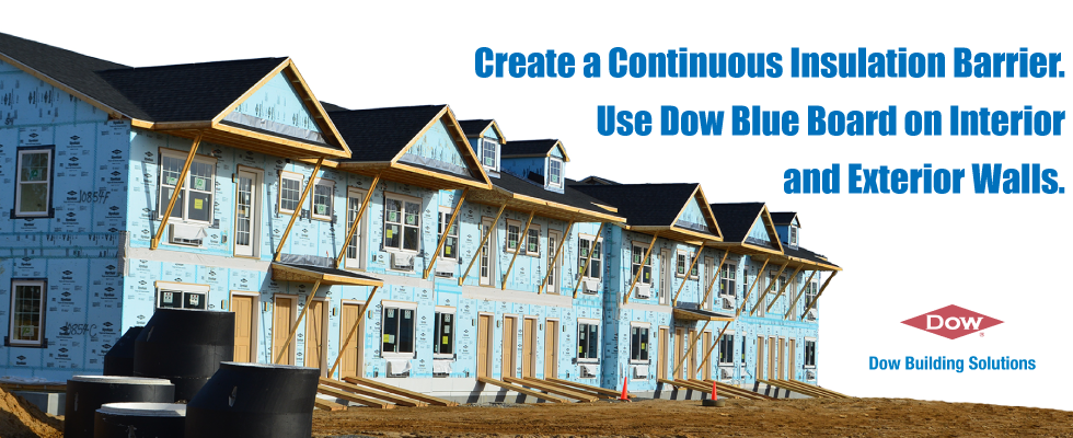 Use Blue Board on Interior and Exterior Walls