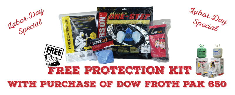 Labor Day Special, Free Protection Kit with Purchase