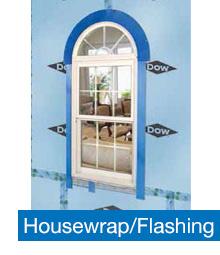 Dow Housewrap and Flashing