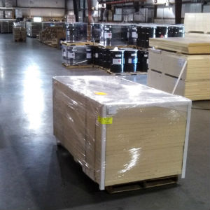 Thermax, packed and ready for shipment.