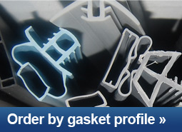 Order cooler door gaskets by gasket profile