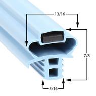 Delfield-Gasket-24-3/4-x-27-1/2-17-299-1702623-170-2623-406-406CA-DHL-406CADHL-400F12-400F404A-400R12-400R22-400R404A-406CP-402-4062H-406STAR2-407-401-403-406-406CA-407CA-1