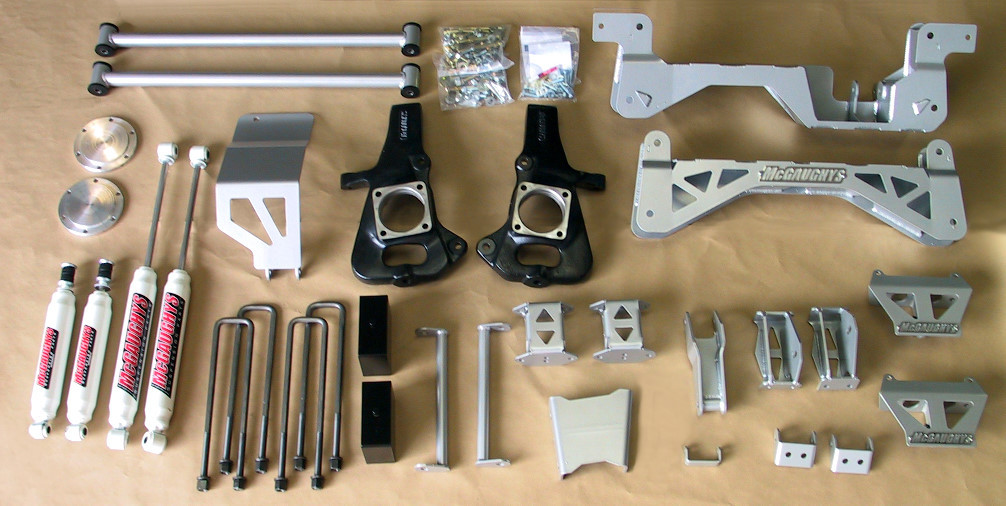 "McGaughys Chevrolet Silverado 2500HD 2wd 1999-2010 7"" Lift Kit W ..."