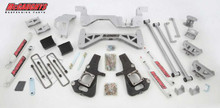 "1999-2010 GMC Sierra 2500HD 2wd Diesel SRW 7"" Lift Kit - McGaughys 52000"