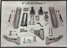 "2011-2016 Ford F250 8"" Phase 1 Lift Kit W/ Shocks - McGaughys 57281 Kit Detail"