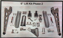 "2011-2016 Ford F250 8"" Phase II Lift Kit W/ Shocks - McGaughys 57282  Kit Detail"