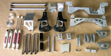 "2002-2010 Chevy Silverado 2500/3500HD SRW  4wd Diesel Engine 9"" Lift Kit- McGaughys 9-52050"