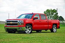 "2014-2015 Chevy Silverado 1500 2wd/4wd Double Cab 2/4"" Economy Drop Kit - McGaughys 34150 (Installed)"