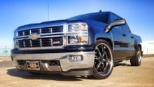 2014-2015 Chevy Silverado 1500 Double Cab 3/5,4/6 & 5/7 Adjustable Drop Kit - McGaughys 34170 (Front View)