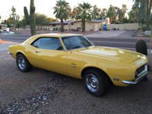 1968 Chevy Camaro Numbers Matching Arizona Car FOR SALE Exterior Front Side