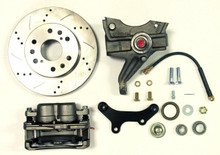 "1971-1972 Chevrolet C-10 13"" Front Cross Drilled Disc Brake Kit & 2.5"" Drop Spindles; 6x5.5 Bolt Pattern - McGaughys 63313"