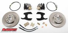 "GM Truck 12 Bolt Rear End - 13"" Rear Cross Drilled Disc Brake Kit; 5x5 Bolt Pattern - McGaughys 64203"