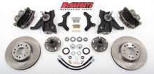 "1963-1970 GMC C-10 13"" Front Disc Brake Kit & 2.5"" Drop Spindles; 5x5 Bolt Pattern - McGaughys 63151"