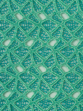 Lace H379 Teal/Aqua/Light Teal