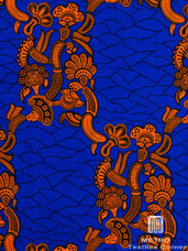 Vlisco Dutch Wax 4YW110