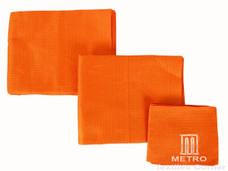 Aso-Oke A135 Orange Handwoven