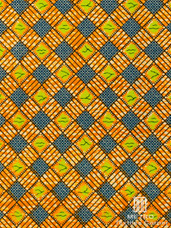 Vlisco Dutch Wax W1125