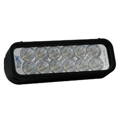 "Vision X XIL-121 XMITTER 8"" Single Stack Flood Beam LED Light Bar"