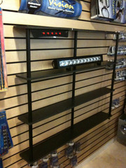 LED Light Bar Display Shelf