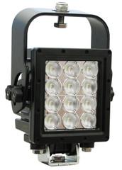 Vision X MIL-RXP1240WT Ripper Xtreme Prime LED Light w/ trunnion and suspension bracket WHITE (40 degree)
