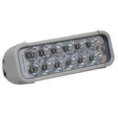"""8"""" XMITTER LED LIGHT BAR WHITE FLOOD BEAM VISION X XIL-121W"""