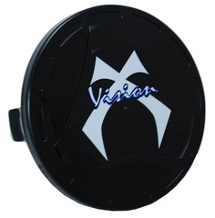 """BLACK LIGHT COVER 6.5"""" ROUND W/VISION X LOGO  P-R6500COVERVX"""