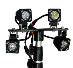 HEIGHT ADJUSTABLE LIGHT STAND TRIPOD Vision X P-TRIPOD