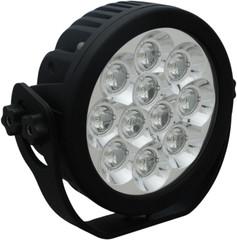 """6"""" ROUND EXPLORER LED DRIVING LIGHT 55 Watt 90° beam VISION XCTL-EPX1190"""