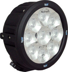 "6.5"" ROUND TRANSPORTER LED DRIVING LIGHT 45 Watt 90° wide beam VISION X CTL-TPX990"