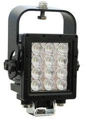 Vision X MIL-RXP1290WT Ripper Xtreme Prime LED Light w/ trunnion and suspension bracket WHITE (90 degree)