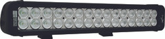 "18"" XMITTER PRIME LED BAR BLACK THIRTY 3-WATT LED'S 30ºX65º DEGREE ELLIPTICAL BEAM. Vision X XIL-P30e3065"