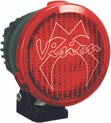 4.5 CANNON PCV RED COVER WIDE FLOOD BEAM