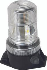 """5.25"""" UTILITY MARKET LED BATTERY POWERED BEACON 36 AMBER LEDS"""