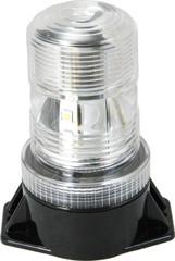"""5.25"""" UTILITY MARKET LED BATTERY POWERED BEACON 36 WHITE LEDS"""